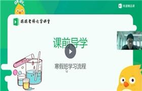李栋 2019初三化学寒假班 有道精品课