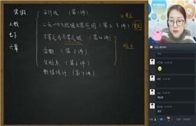 【2019-寒】初一数学直播培优班(广州人教)学而思 王鑫宇