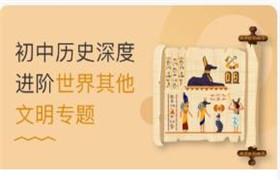 初中历史深度进阶世界其他文明专题(丁子江)23讲