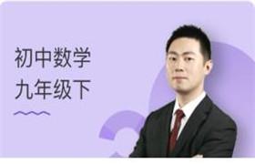 初中数学九年级下同步提高视频课程 王志轩31集