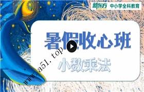 新五年级收心班(新东方)