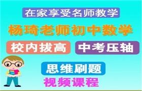 杨琦初中数学 思维刷题班+校内班课程百度云网盘下载目录