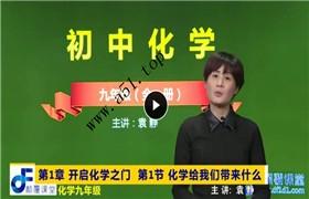 颠覆课堂 初中化学 九年级(全)同步课程 (沪教版 基础版)马金龙