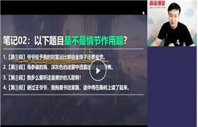 许天翼【2021-暑】初三语文暑期目标班