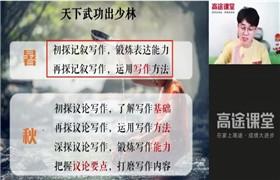 高途课堂 马一鸣【2021-暑】高一语文暑假班 百度网盘分享
