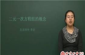 北京四中 初中数学全套高清视频课堂(初一初二初三)+讲义 百度云网盘分享下载