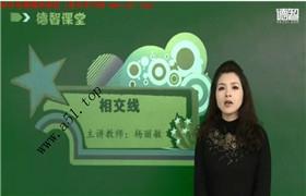 【德智教育】初一数学下学期同步课(人教版)杨丽敏45个视频