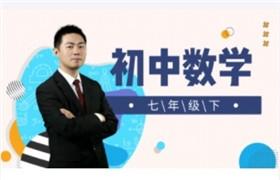初中数学七年级下  王志轩