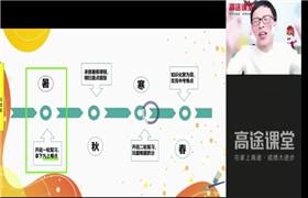 高途课堂 王先意【2021-暑】初三语文暑期班 百度网盘分享
